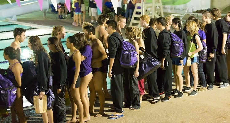 Photo for Anderson Leading Swimming and Diving Program to Successful Start