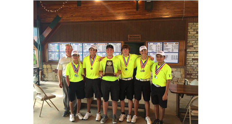 Photo for It is 2nd place in District for the Ranger Golf Team!