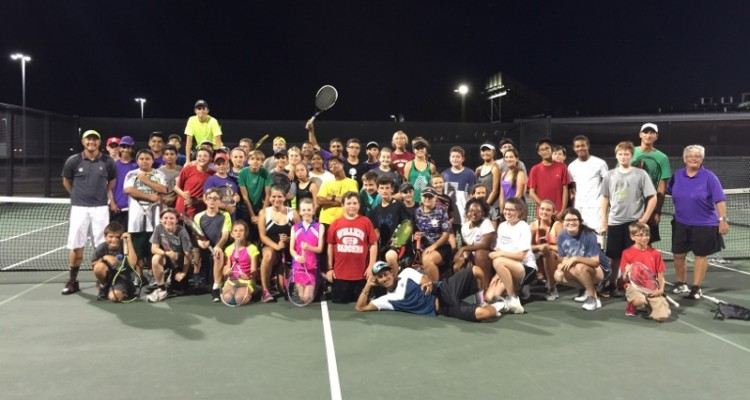 Photo for Ranger Tennis team night with the Pros!