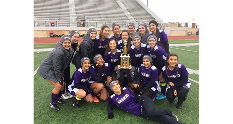 Photo for Lady Ranger Soccer Finishes 3rd At EMS X-Town Tournament