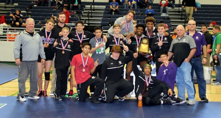 Photo for It's A Sweep For Ranger Wrestling! Chisholm Trail Boys' Claim 2017 District Championship!