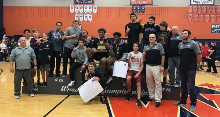Photo for Ranger Wrestling WINS Regional Championship!