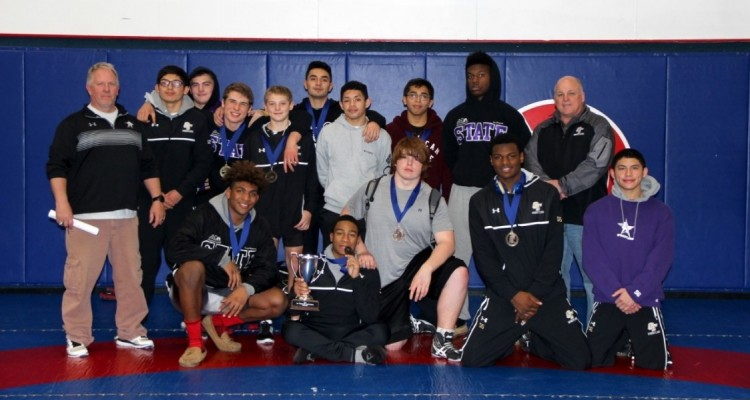 Photo for Ranger Wrestling Claim Trinity Christian Championship, Second Year In A Row!