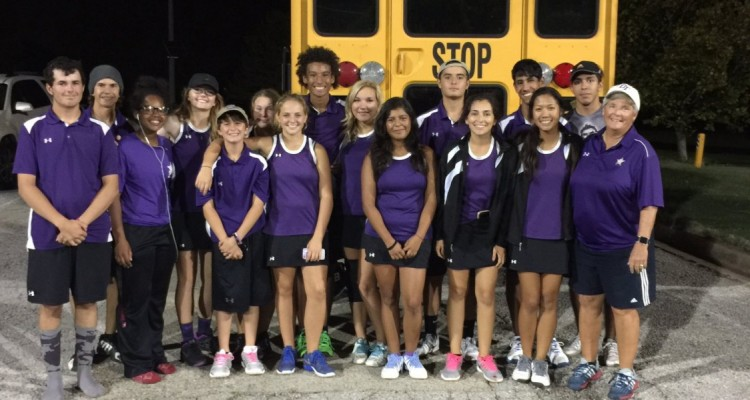 Photo for The Rangers Battle Wichita Falls In The Quarterfinals Of The Area Tennis Tournament