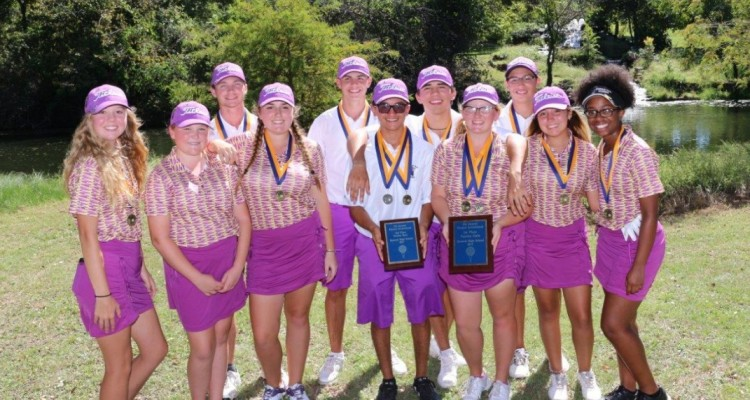 Photo for Chisholm Trail Girl's Golf Team Breaks School Record